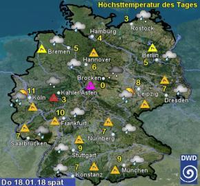 Wetter morgen
