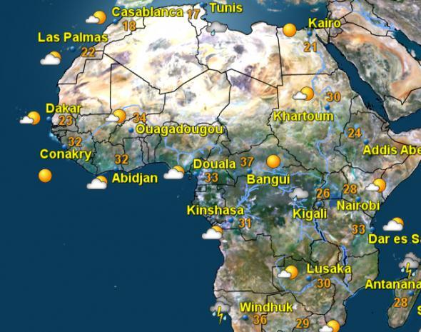 Wetter in 3 Tagen
