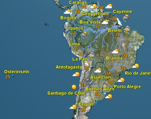 Wetter übermorgen